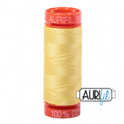 Aurifil 50 Cotton Thread - 2115 (Lemon)
